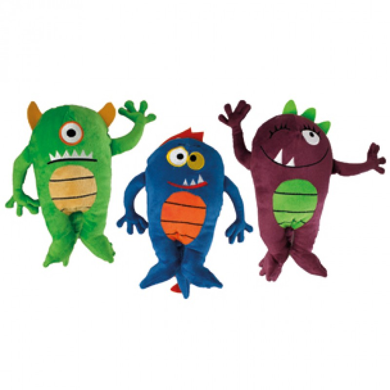 Plush Happy Monster lilla