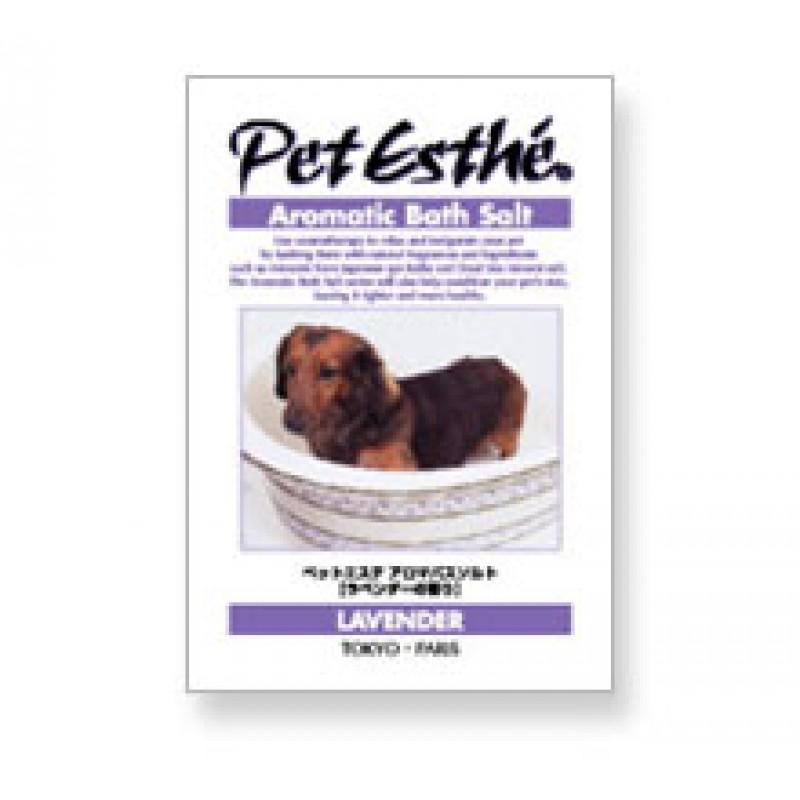 Pet Esthé Aromatisk Badesalt - Lavendel duft