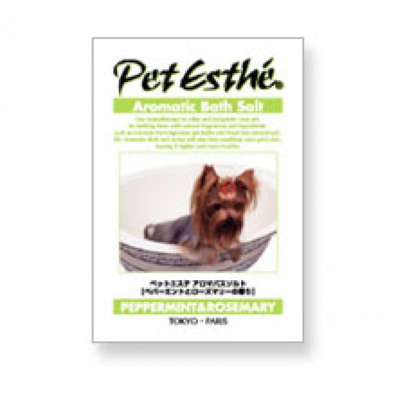 Pet Esthé Aromatisk Badesalt - Pebermynte & Rosmarin duft