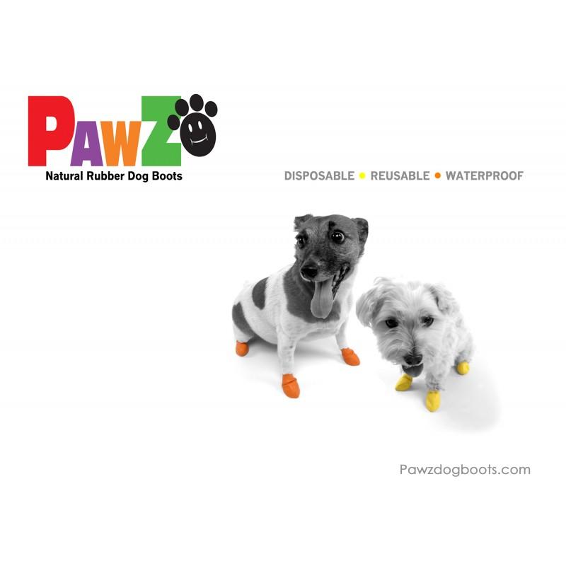 Pawz hundesko, small, rød