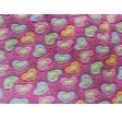 Wellness tæppe lyserød med hjerter 140x100