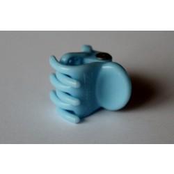 Hårklemme med silikone, lyseblå 1,5 cm