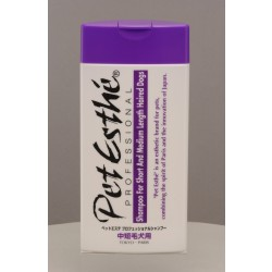 Pet Esthé Professional Shampoo for Short and Medium Lenght Haired Dogs, 400 ml